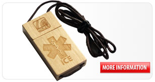 sports id wooden tag