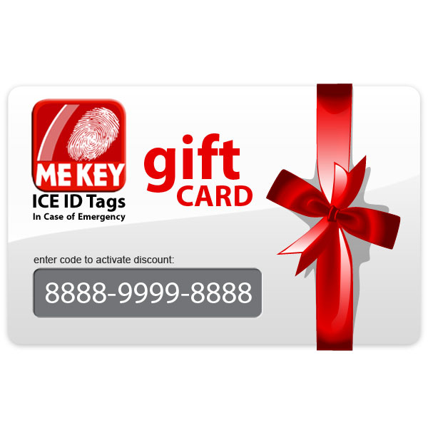 medical id gift card
