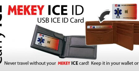 emergency medical id card ice id cards