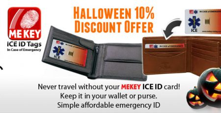 halloween emergency id offer