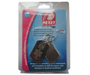 emergency id dog tags