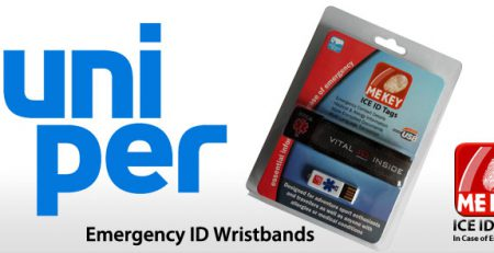uniper technology id wristbands