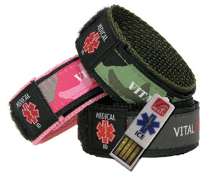sports id bands medium
