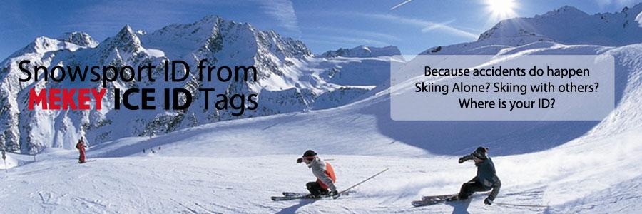 snow sports emergency ID skier ID boarder ID