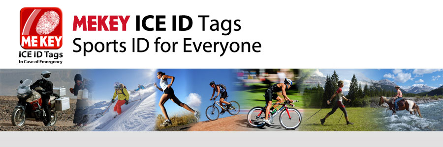 sports id for cycling, running, horse riding, biker id